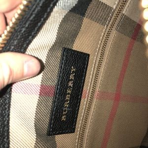 Burberry Bags - Burberry shoulder bag ~black~ Reserved